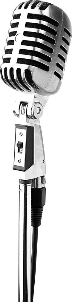 microfoon standaard chroom